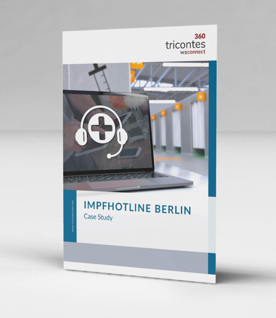 tricontes360 - Case Study: Terminvergabe für das Land Berlin